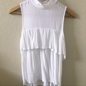 BP white tank top shirt